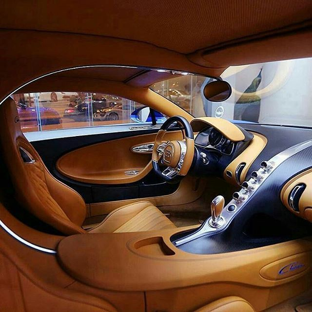 Inside the bugatti chiron dope or nope follow for Car inner decoration