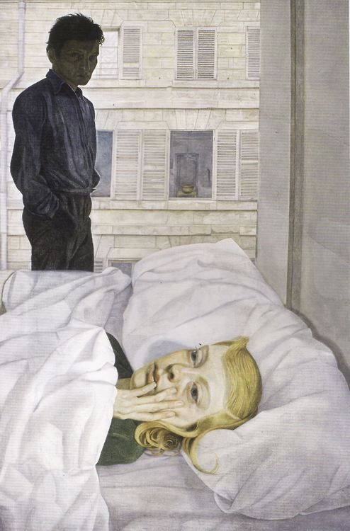 Lucien Freud, Hotel Bedroom, 1954