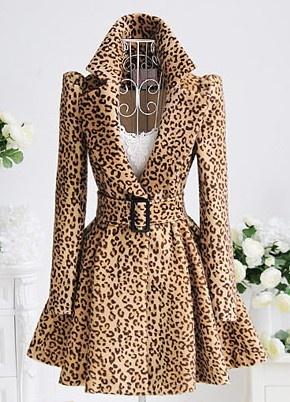 leopard print wow