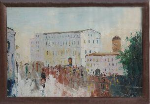 Город - Городской пейзаж <- Картины маслом <- Картины - Каталог | Универсальный интернет-магазин подарков и сувениров