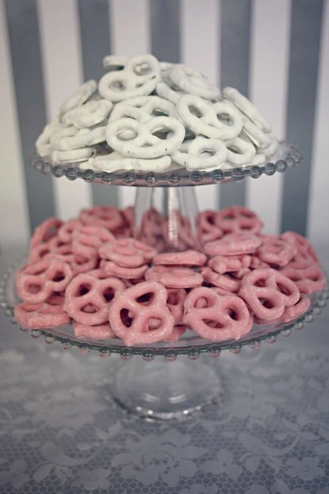 Save this pin -  Breakfast at Tiffany's Baby Shower Party Ideas | Photo 13 of 29