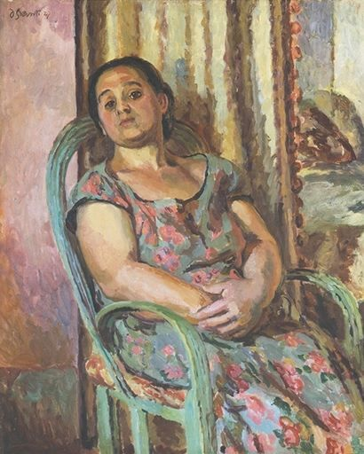 portrait by vanessa bell