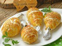 Fırında Milföylü Tavuk Baget Resimli Tarifi - Yemek Tarifleri