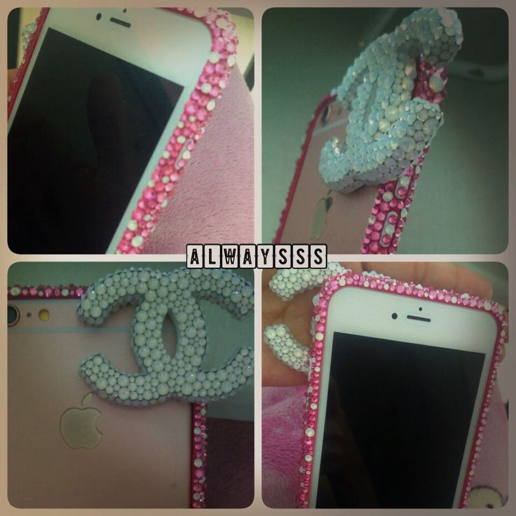 iPhone bumper custom made Oder welcome  Rose bumper rose crystals  Bling sparkle pinkish