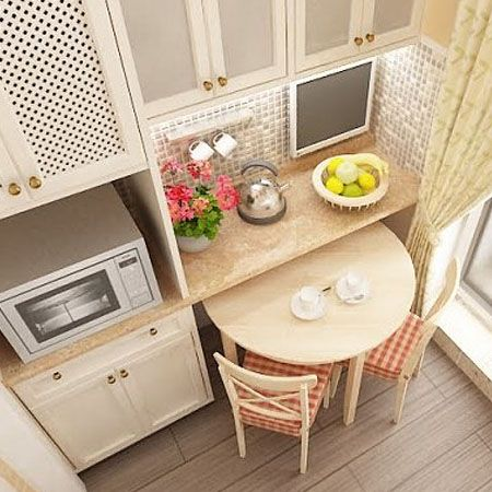 ТОП 10 решений для маленькой кухни