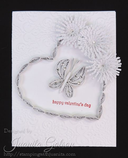 16 best Quilled Cards images on Pinterest  Quilling Paper