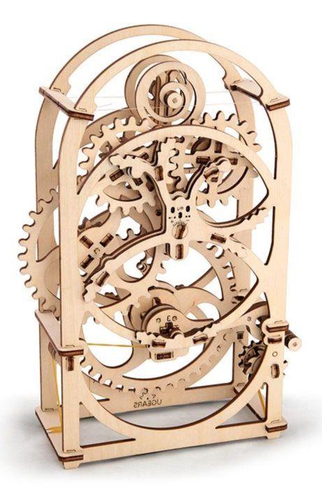 Ugears 3D mechanické puzzle Hodiny