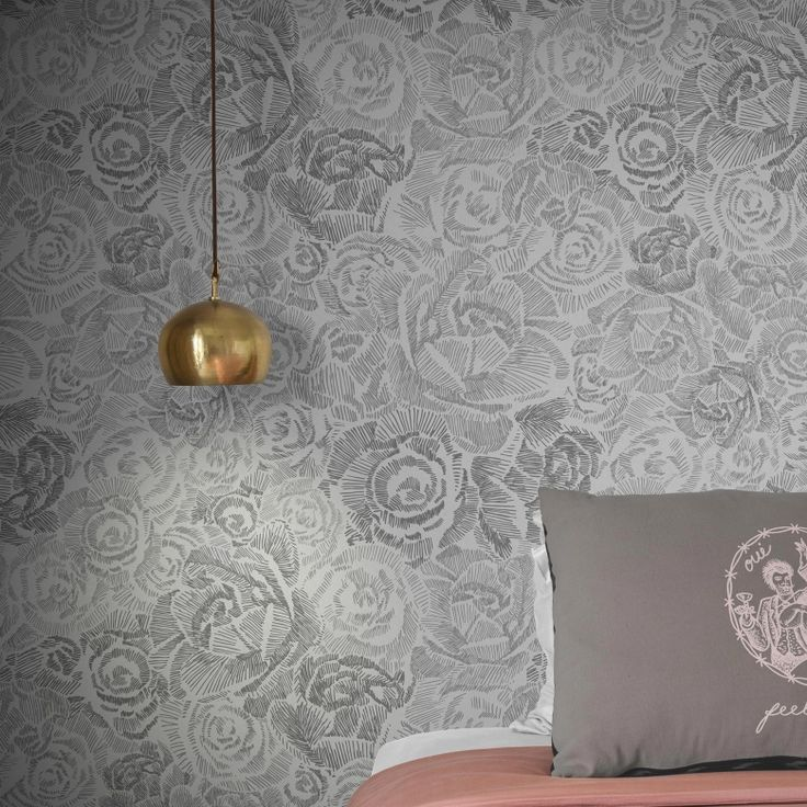 Porcelain Roses Wallpaper by Emmi Pouta | FEATHR™