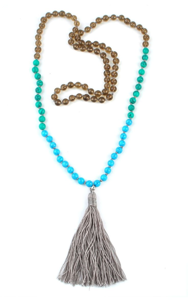 Love this tassel necklace!