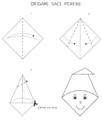 Origami saci