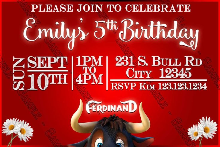 Image result for ferdinand the bull birthday party