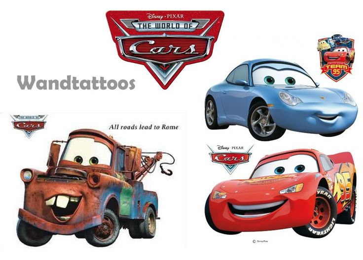 Fresh Wandtattoo Cars Disney Film