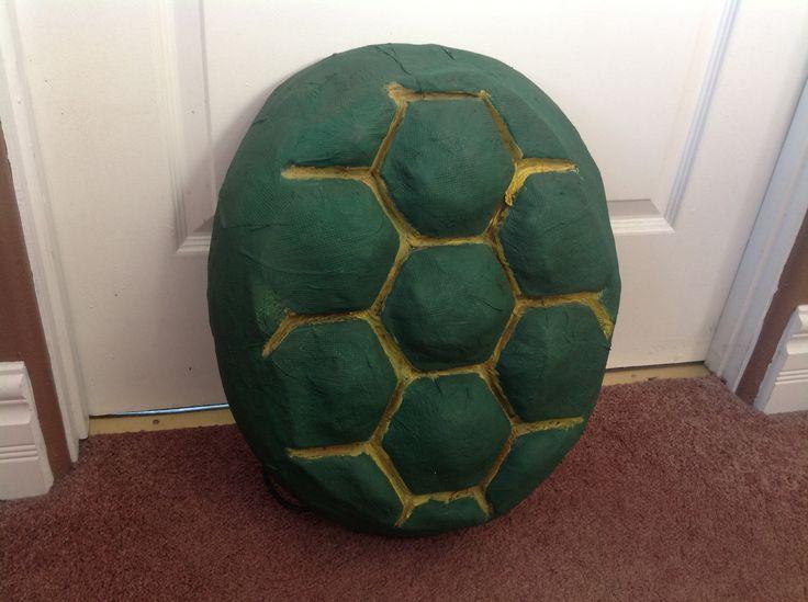 Teenage Mutant Ninja Turtle Shell Paper Mache
