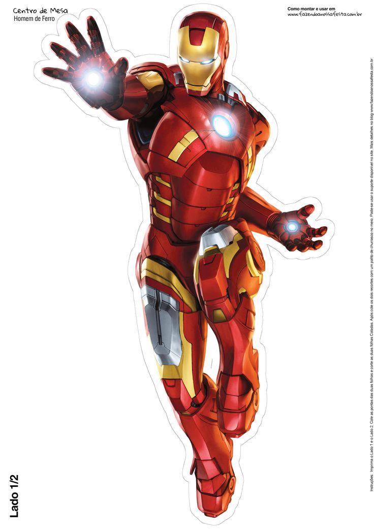 Centro De Mesa Vingadores Homem Ferro 3
