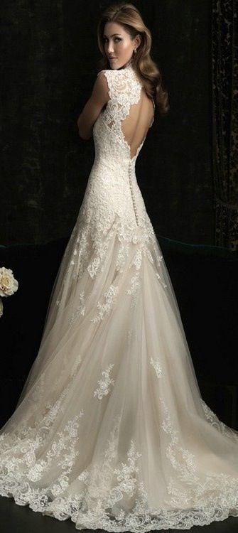 Pretty!!  Beautiful!!  summer 2014 wedding dresses, 2014 bridal dresses