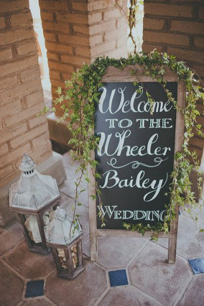 Wedding entrance or site of outdoor wedding. Hollister Smith Wedding <3