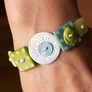 Bracelet bouton