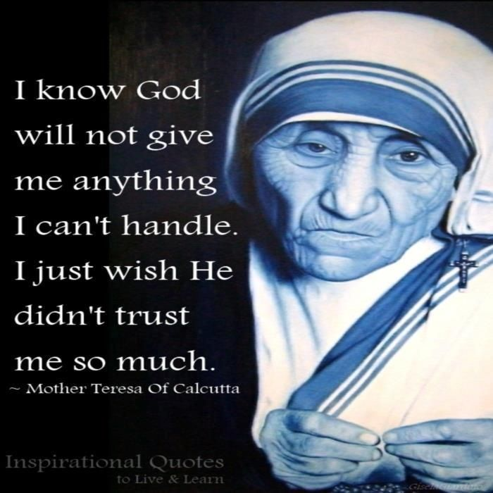 Quote From Mother Teresa: Best 25+ Quotes By Mother Teresa Ideas On Pinterest