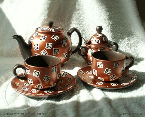 """Serwis do kawy """"Single"""" filiżanki - Coffee services cup """"Single"""""""