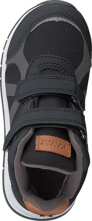 Köp Kavat Iggesund Velcro WP Black Svarta Skor   FOOTWAY.se