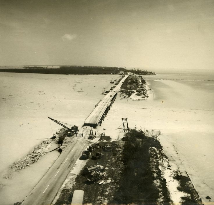 Indian Key Fill after Hurricane Donna 1960