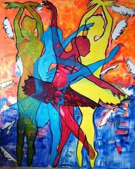 The swans#secret of shadows exhibition artsorks#
