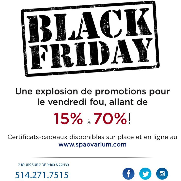 🚨🚨🚨Notre promotion #vendredifou #blackfriday #blackfridaydeals ! Magasinez vos certificats-cadeaux en ligne 📲🖥