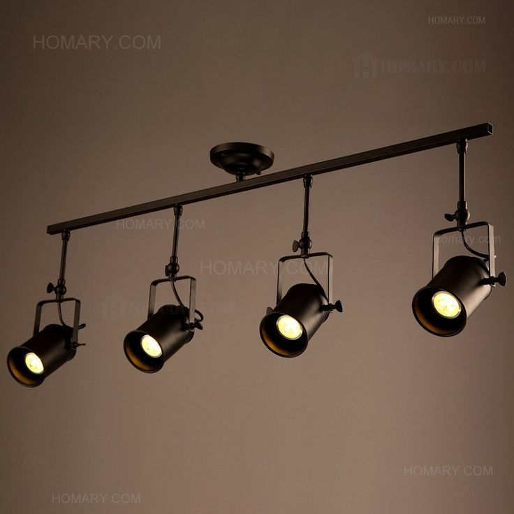 Ceiling Led Lighting Systems : Best industrial spot lights ideas on
