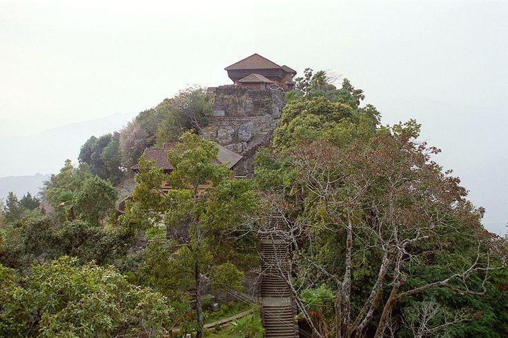 Nepal – Alter Palast des nepalesischen Königshauses in Gorkha