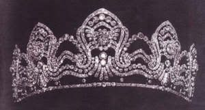 """Archduchess Marie Valerie of Austria tiara--she was the daughter of """"Sissi"""", aka the Empress of Austria-Hungary, who is also on this board."""