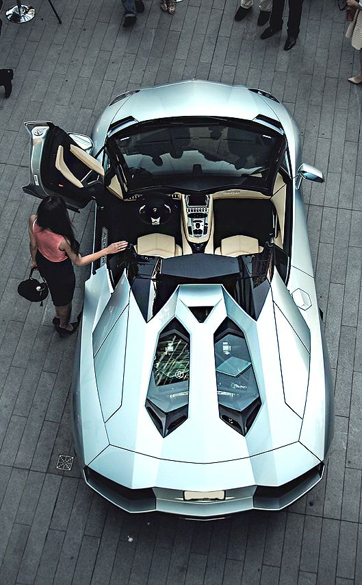 Stunning Aventador Roadster!  Whether you're interested in restoring an old classic car or you just need to get your family's reliable transportation looking good after an accident, B & B Collision Corp in Royal Oak, MI is the company for you!  Call (248) 543-2929 or visit our website www.bandbcollisioncorp.net for more information!