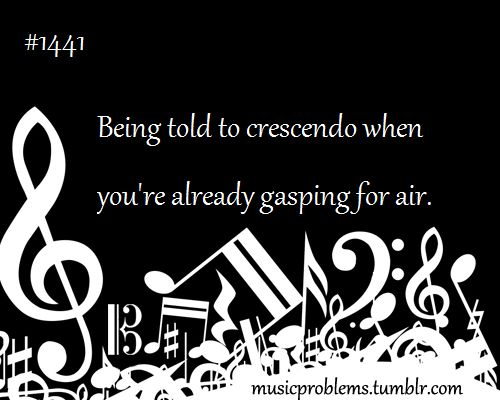 or not being able to breathe after it. :) << or being told not to breathe after it, so then you die real quick.