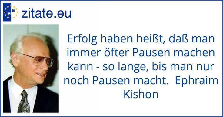 Zitat von Ephraim Kishon