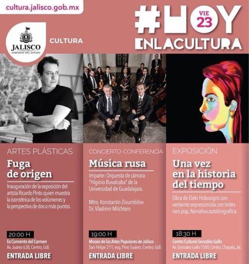 """#Hoyenlacultura recuerden que la exposición """"Una vez en la historia del tiempo"""" permanecerá un mes en exhibición en el Centro Cultural González Gallo, no se la pierdan."""