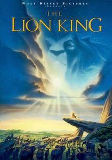 The Lion King (Voices by Matthew Broderick, James Earl Jones, Nathan Lane, Jonathan Taylor Thomas)