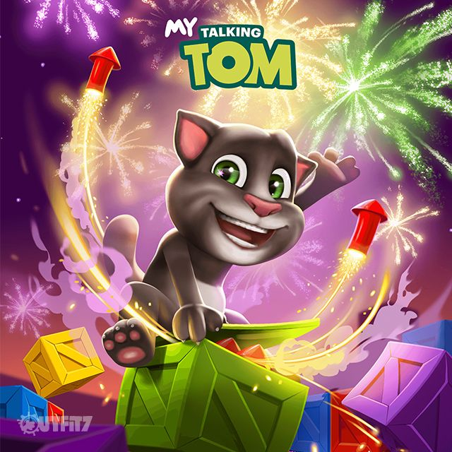What a fabulous new mini game in My Talking Tom's latest app update!! xo, Talking Angela #TalkingAngela #MyTalkingAngela #LittleKitties #app #game #best #TalkingTom #update #awesome