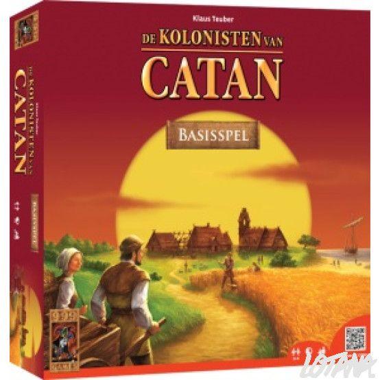 Gezelschapsspel De Kolonisten van Catan 999 games  Ook op de banier