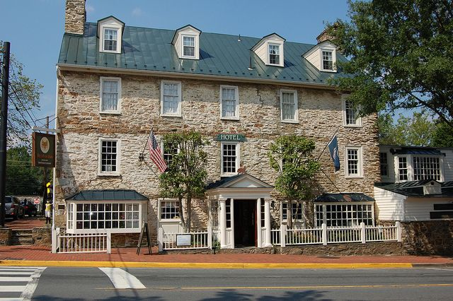 Established in 1728, the Red Fox Inn is on the National Register of Historic Places