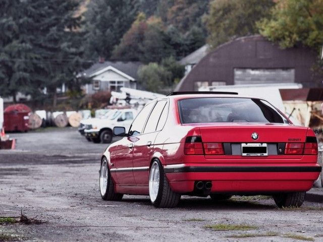 bmw e34 532i tuning red e34 pinterest bmw and red. Black Bedroom Furniture Sets. Home Design Ideas