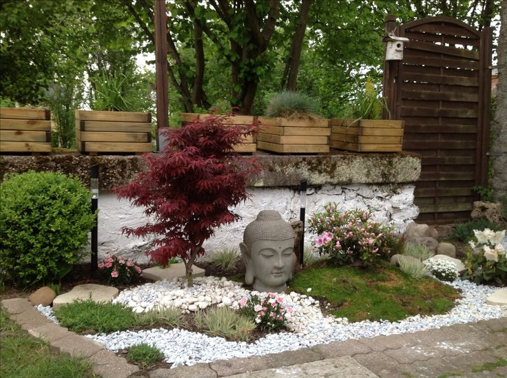 25 best ideas about deco jardin zen on pinterest paysage zen jardins zen and terrasse for Decoration jardin japonais