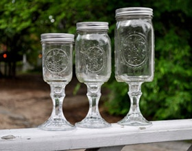 Redneck Wine Glasses — Redneck Drinking Glasses for the Holidays and the New Year