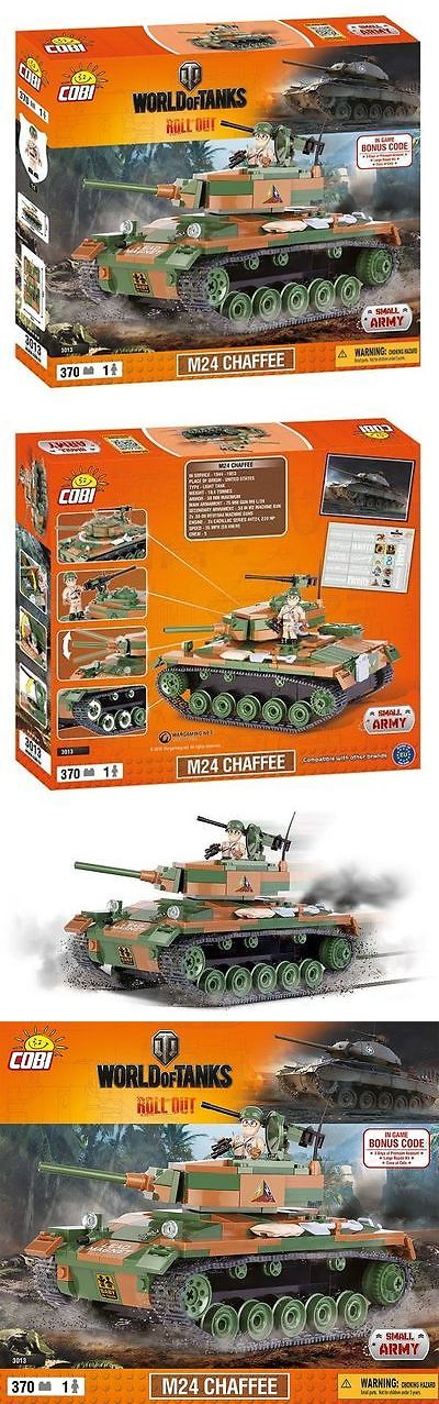 Other Building Toys 19015: World Of Tanks M24 Chaffee Us Light Tank Cobi Blocks 3013 Small Army Wwii Bricks -> BUY IT NOW ONLY: $39.99 on eBay!