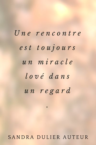 Citation rencontre amoureuse