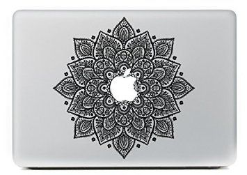 "Vati Feuilles amovibles chanceux Fleurs cool Art Design Vinyle Meilleur Decal Sticker Perfect Skin pour Apple MacBook Pro Air Mac 13 ""pouces / Unibody 13 pouces pour ordinateur portable"