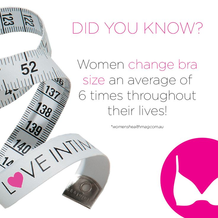 When was the last time you had a professional bra fit and measure? Contact your Stylist to ensure you're getting the right support!