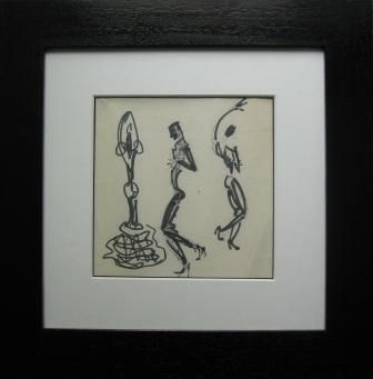 Charles Kiffer - Flamenco dansers | Objets de Vertu