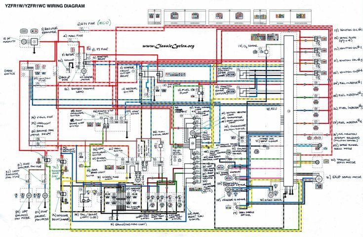 2018 Yzf R1 Wiring Diagram, Yamaha R1 Wiring Diagram