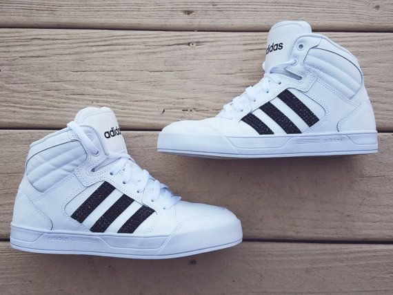 adidas neo mid high number