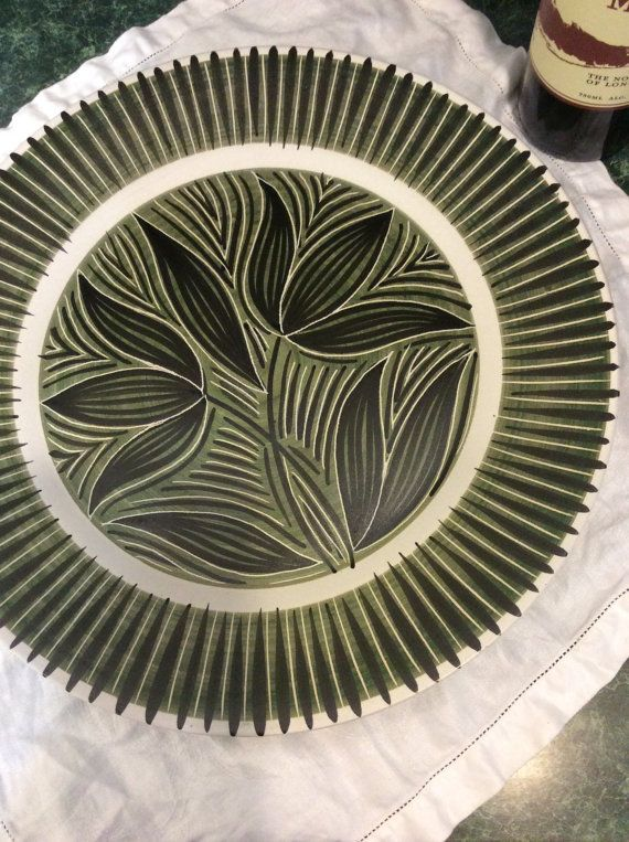 Scandinavian Platter  Made in Norway  Mid by PineStreetPickers