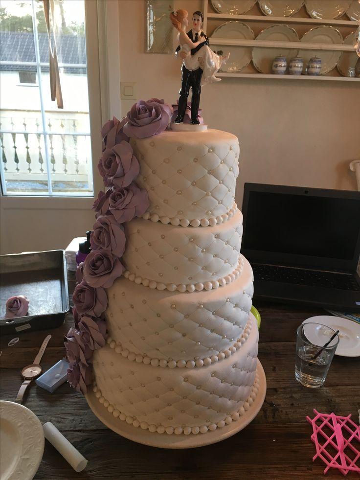 Lawender wedding cake